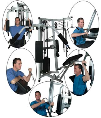 Apex Challenge Circuit 7000 Workout Machine