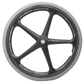 "24"" x 1"" X-Core 5 Spoke Everyday Wheel (25-540)"